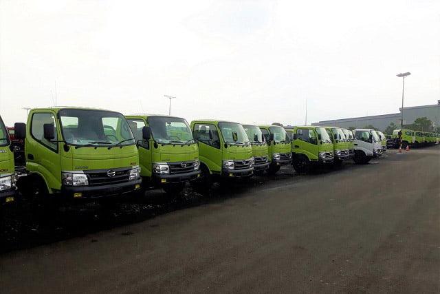 PT HMMI Untuk Sementara Hentikan Produksi Truk dan Bus Hino
