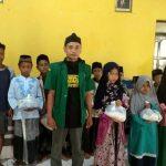PAC Ansor Jatibarang Brebes Salurkan Bantuan ke 555 Anak Yatim