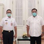 Wakil Walikota Depok Terima Bantuan Alat Rapid Test Dari Anis Baswedan
