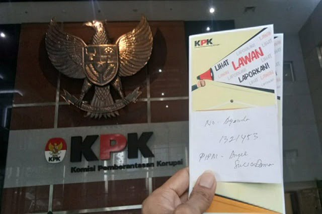 Dugaan Korupsi APBD 2018 Kota Sorong Resmi Terregister di KPK