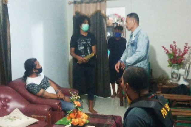 Residivis Narkoba Diringkus Unit Narkoba Polres Muna