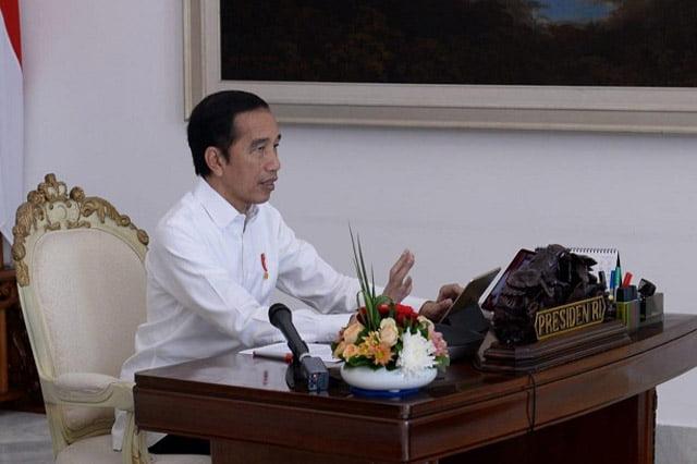 Presiden Jokowi Minta Daerah PSBB Punya Target Yang Jelas