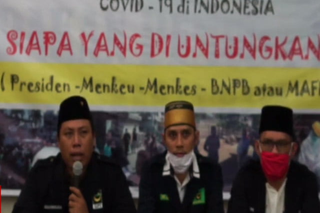 LBH PP GPI Desak DPR Bentuk Pansus Korupsi Dana Covid-19