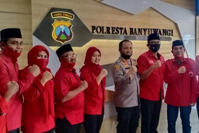 PDI Perjuangan Banyuwangi Adukan Pembakaran Bendera ke Polresta