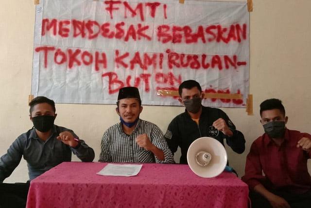 Front Mahasiswa Timur Indonesia: Bebaskan Ruslan Buton, Lawan Komunis