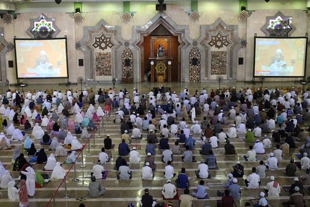 Masjid Raya JIC Gelar Shalat Idul Adha Dengan Protokol Kesehatan
