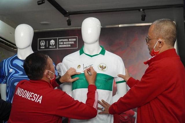 Jersey Away Terbaru Timnas Indonesia Resmi Dilaunching