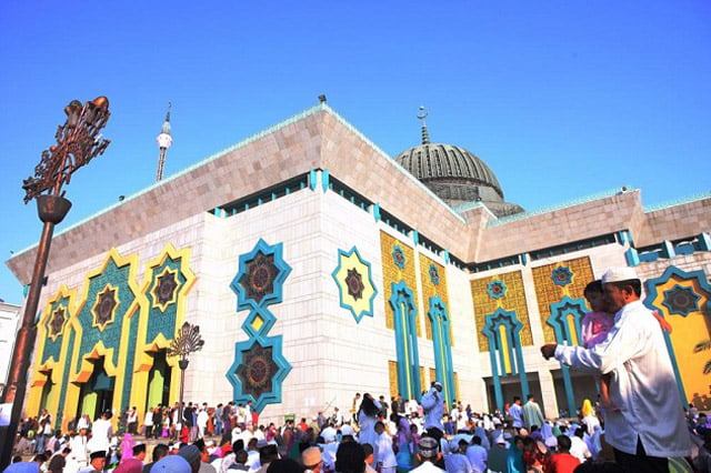 Masjid Raya JIC Gelar Shalat Idul Adha Dengan Protokol Covid-19