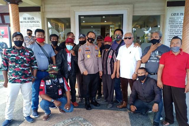 LSM Se-Banyuwangi Dukung Polresta Proses Oknum LSM Yang Anarkis