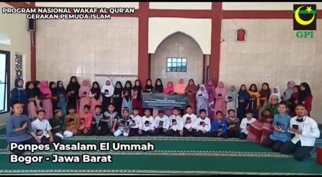 GPI Mulai Salurkan Mushaf Al Qur'an ke Pesantren Tahfidz Yang Membutuhkan di Pelosok Indonesia