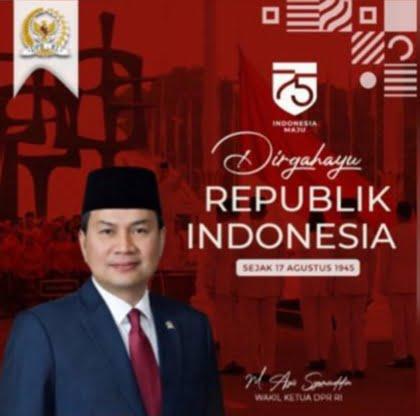 Azis Syamsuddin – HUT RI Ke-75