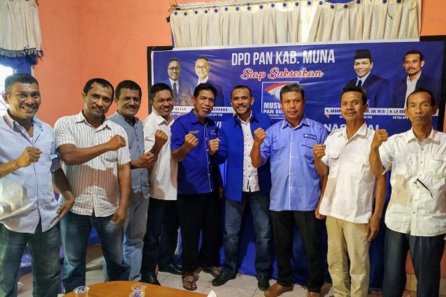 Pilkada Muna, DPD PANMuna Tegaskan Hanya Beri Rekom ke dr Baharuddin