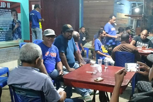 M1R DPW Raja Ampat Silahturahmi ke Koalisi Suara Rakyat For 4