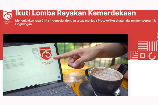 Pemerintah Gelar Lomba Virtual Cinta Indonesia Berhadiah 1 Miliar