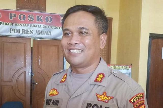 Kapolres Muna Benarkan Kasus Wakil Bupati Buton Utara Dilimpahkan ke Kejaksaan