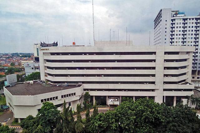 Gedung Kementerian Sosial RI Terbakar