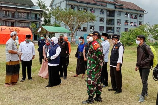 Gubernur Jatim Kunjungi Klaster Ponpes Darussalam Blok Agung Banyuwangi