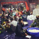 Dapur Umum Ponpes Darussalam Dibantu Personil Bekangdam V Brawijaya