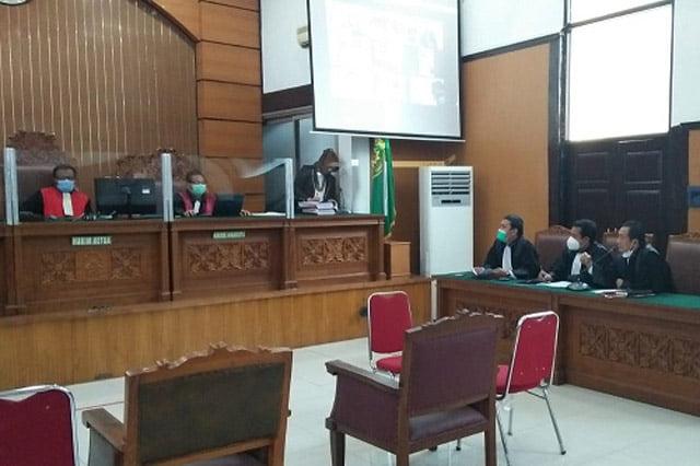 Bacakan Duplik, PH Minta Yudi Negara Rakyat Nusantara Dibebaskan
