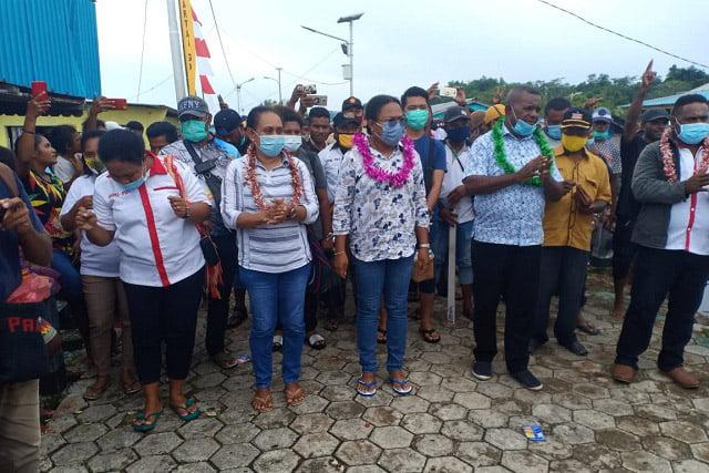 Warga Kepulauan Aruri Dukung NAPI (Naomi Piet) Untuk Perubahan Supiori