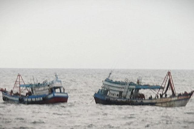 Lagi-lagi, 2 Kapal Ikan Asing Tertangkap Illegal Fishing di Laut Natuna Utara