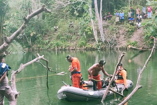 Pelajar SMPN I Kemtukgresi Jayapura Hilang di Telaga Kopta