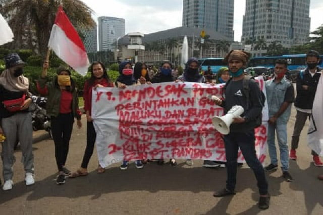 Datangi Istana Presiden, Format Buru Tuding PT Pambres Jaya Langgar Kesepakatan