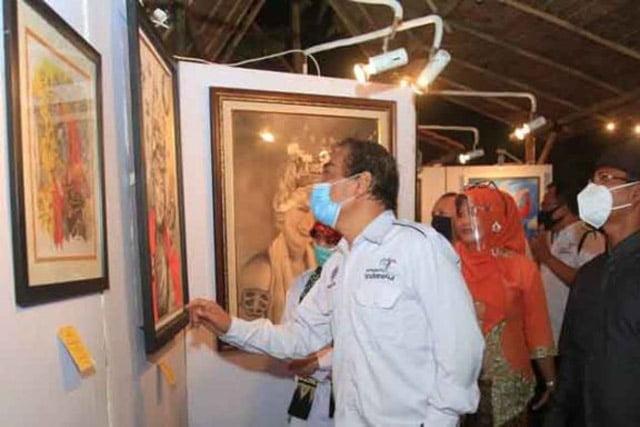Seniman Banyuwangi Gelar Pameran Seni Sewu Gandrung