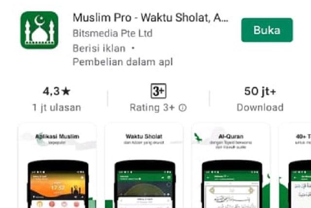 Aplikasi Muslim Pro Jual Data Lokasi Pengguna ke Militer AS?