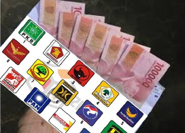 Partai dan Logika Politik Uang. Opini Ahmad Khozinudin
