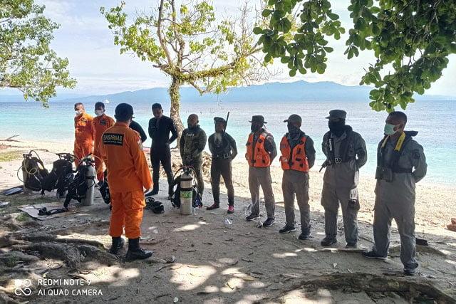Bakamla Zona Maritim Timur Temukan Korban Tenggelam di Pantai Akipai