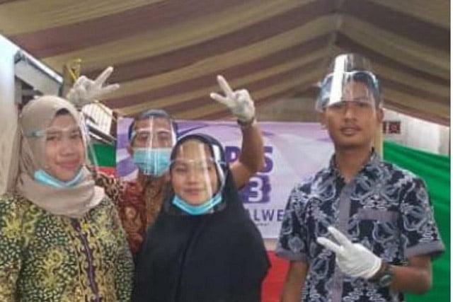 Ketua Partai Demokrat Banyuwangi Marah, Marak Anggota KPPS Berpose Dua Jari di Lokasi TPS