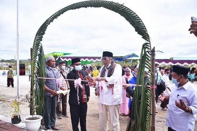 Bupati Sintang Resmikan Gedung MTs Nurul Ma'arif Dedai