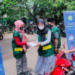 Didukung Baharkamla Polri, Prima DMI DKI Jakarta Berbagi Nasi Box Gratis