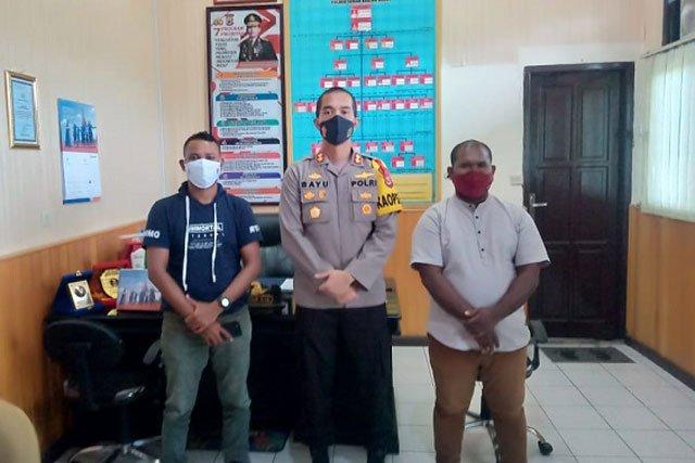 Kapolres Seram Bagian Barat Silaturahmi Dengan PD GPI SBB