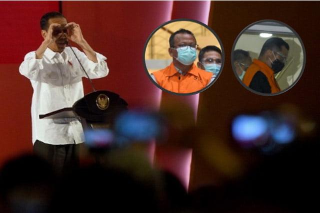 Satu Per Satu Menteri Jokowi Digaruk KPK, Bukti Kegagalan Jokowi?