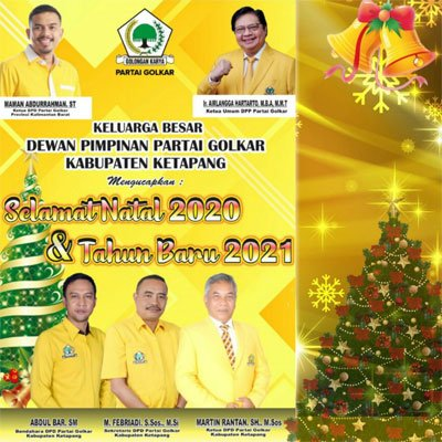 Keluarga Besar DPP Golkar Ketapang 500