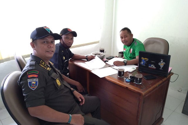 Asdiklat Menwa Maluku Gelar Konsolidasi Pendidikan Latihan Dasar Militer