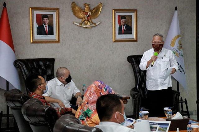 Ketua DPD Dorong Sirkuit Mandalika Cepat Terwujud