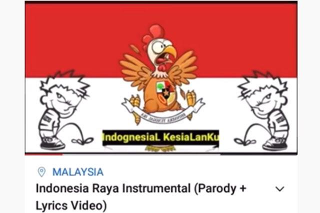 Parodi Lagu Indonesia Raya Bernada Menghina Viral di Medsos