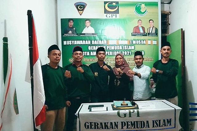 Musda GPI Kota Ambon, Ruslan Rumaratu Terpilih Jadi Ketua Umum
