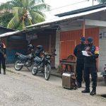 Brimob Polda Maluku Himbau Protokol Kesehatan Pada Warga Kota Piru