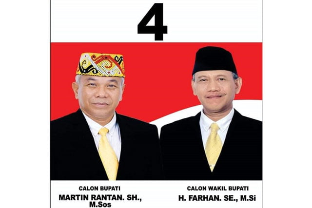 KPU Ketapang Tetapkan Martin Rantan dan H Farhan Sebagai Bupati dan Wabup Terpilih
