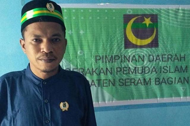 Ketua GPI SBT Dahlan Rumesy: Pemuda Tak Boleh Larut Pasca Pilkada