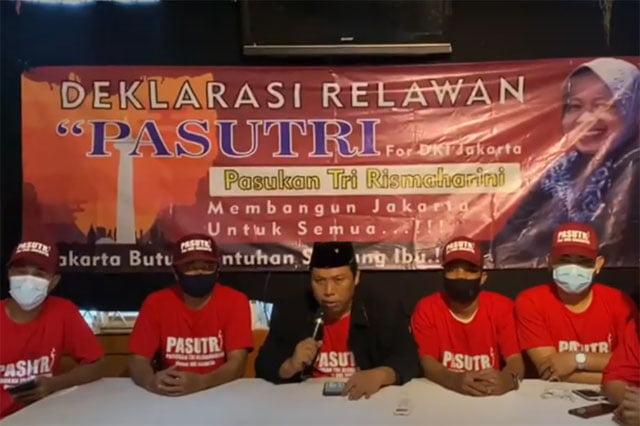 Relawan Pasutri For DKI Jakarta Resmi Dukung Risma The Next Gubernur