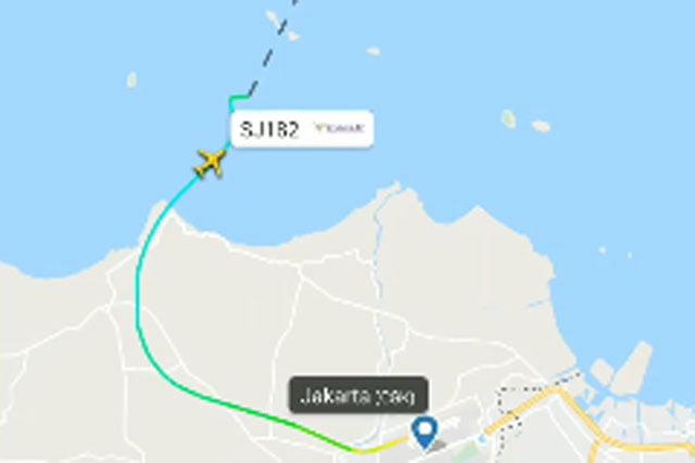 Sriwijaya Air SJ-182 Jakarta-Pontianak Hilang Kontak