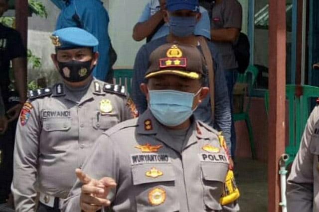 Polres Ketapang Tetapkan 3 Tersangka Kasus Pembakaran Kantor PT ARRTU