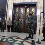 Kapolri Listyo Sigit Prabowo Silaturahmi ke Panglima TNI Hadi Tjahjanto