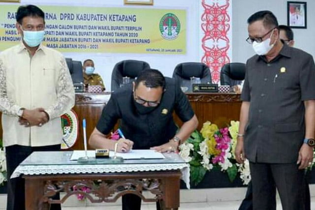 DPRD Ketapang Gelar Sidang Paripurna Penetapan Calon Bupati-Wabup Terpilih