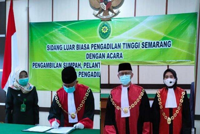 Henny Trimira Handayani Resmi Jabat Ketua Pengadilan Negeri Sragen